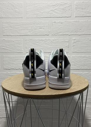 Nike air force white black кроссовки найк женские форсы аир форс кеды обувь взуття5 фото