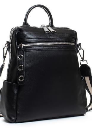 Брендовые кожаный рюкзак