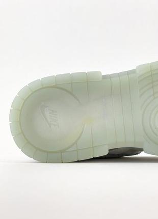 Nike sb dunk white кроссовки женские найк данк кеды8 фото