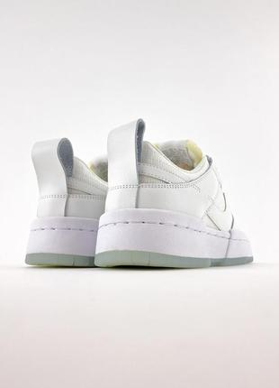 Nike sb dunk white кроссовки женские найк данк кеды3 фото