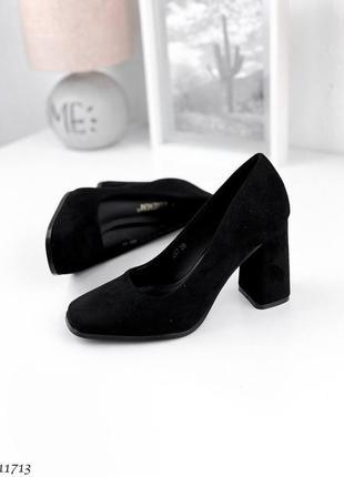 Туфли =kamensi=, цвет: black, эко-кожа