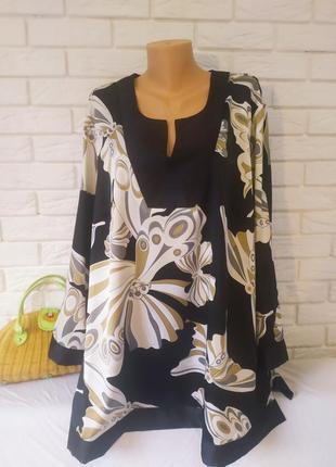 Красивая блуза большого размера  от ann harvey