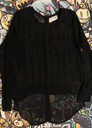 Черная рубашка by second female