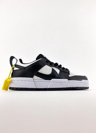 Nike sb dunk black white кроссовки найк женские форсы сб данк данки обувь кеды1 фото