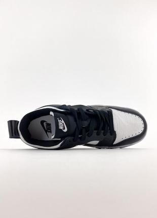 Nike sb dunk black white кроссовки найк женские форсы сб данк данки обувь кеды5 фото