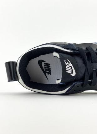 Nike sb dunk black white кроссовки найк женские форсы сб данк данки обувь кеды7 фото
