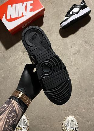 Кроссовки найк женские nike sb dunk black white обувь кеды данки2 фото