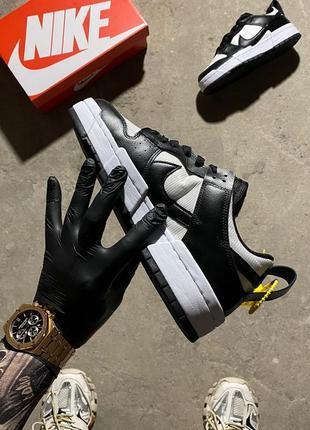Кроссовки найк женские nike sb dunk black white обувь кеды данки5 фото