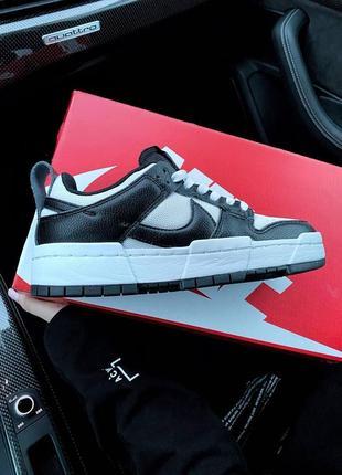 Nike sb dunk black white кроссовки найк женские форсы аир форс кеды данки3 фото