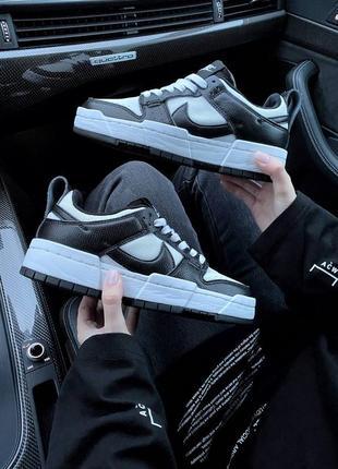Nike sb dunk black white кроссовки найк женские форсы аир форс кеды данки2 фото