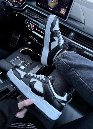 Nike sb dunk black white кроссовки найк женские форсы аир форс кеды данки6 фото