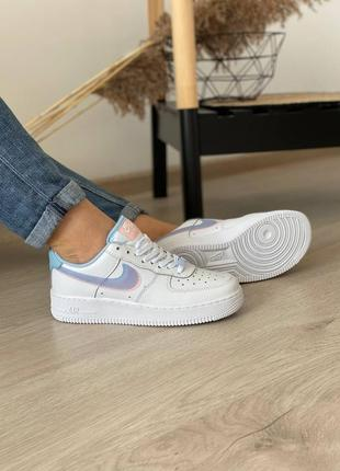 Nike air force 1 кроссовки найк женские форсы аир форс кеды double swoosh lv8