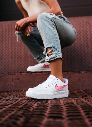 Nike air force love кроссовки найк женские форсы аир форс кеды обувь взуття3 фото