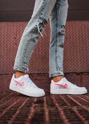 Nike air force love кроссовки найк женские форсы аир форс кеды обувь взуття
