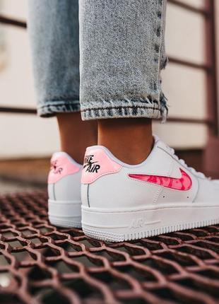 Nike air force love кроссовки найк женские форсы аир форс кеды обувь взуття7 фото