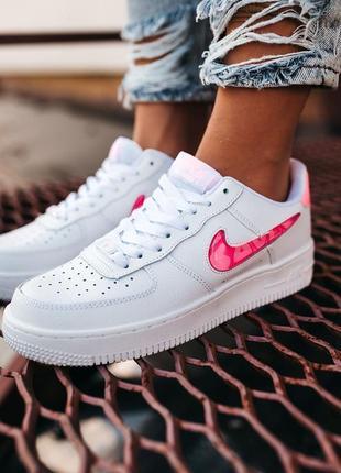 Nike air force love кроссовки найк женские форсы аир форс кеды обувь взуття8 фото