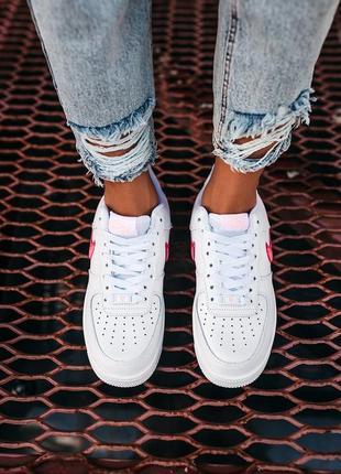 Nike air force love кроссовки найк женские форсы аир форс кеды обувь взуття9 фото