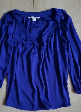 Шелковая блуза шелк 100% diane von