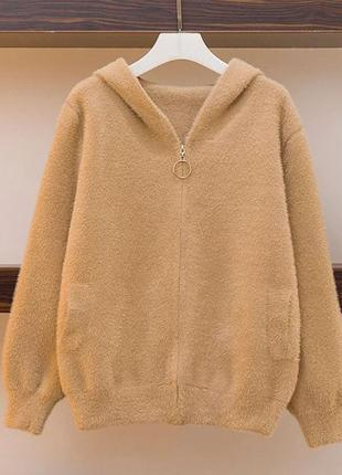 Женская куртка из альпаки