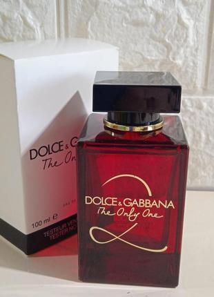 Духи dolce&gabbana the only one 2 100 ml оригинал