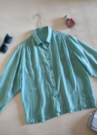 Шелковая рубашка тиффани