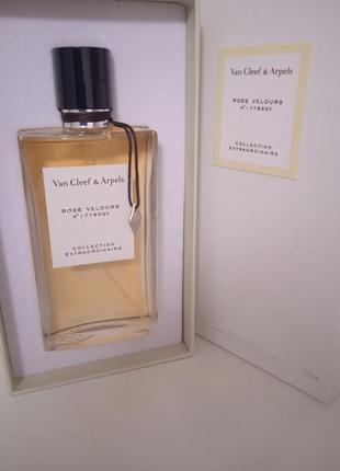 Духи collection extraordinaire rose velours van cleef & arpels 75 ml оригинал