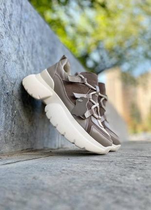 Кросівки з натуральної шкіри
