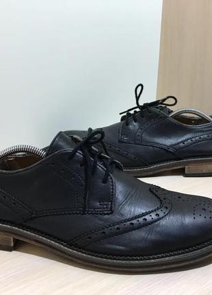 Мужские кожаные туфли kurt geiger
