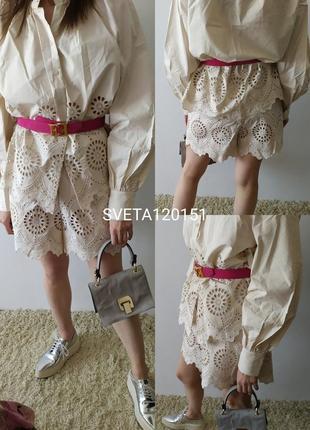 Костюм h&m шорты блуза (zara cos maje sandro twin set)