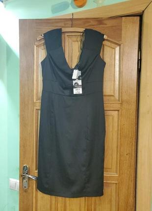 Новое атласное платье.