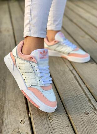 Кроссовеи adidas drop step pink кросівки