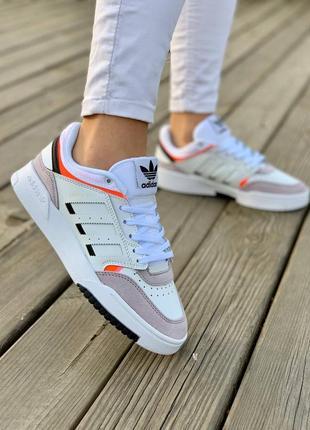 Кроссовки adidas drop step 'white grey' кросівки