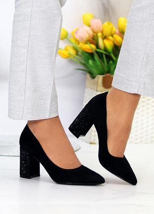 """Туфли """"miracle"""" женские экозамша"""