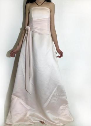 Женское свадебное выпускное платье