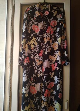 Платье рубашка mango