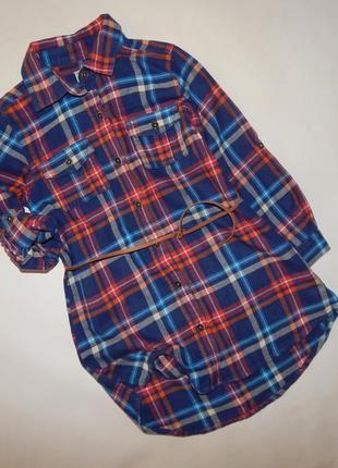 Платье-рубашка next 4-5 лет