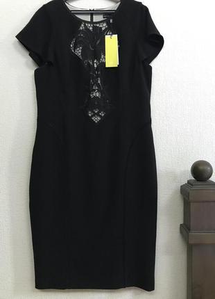Karen millen   стильное платье чёрного цвета р . 46 - 50  / ml