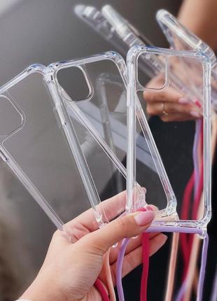 Чехол на шнурку для iphone