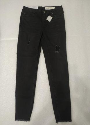 Стрейчевые джинсы с высокой посадкой esmara.