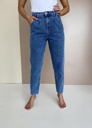 Слоуч  жіночі джинси балони мом новинка 2021