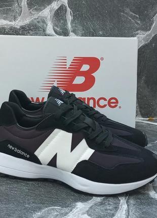 Женские кроссовки new balance future черные, замшевые, летние, осенние