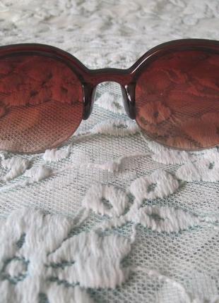 2 ультрамодные солнцезащитные очки кошачий глаз3 фото