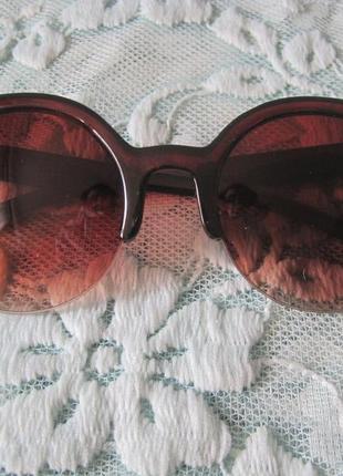 2 ультрамодные солнцезащитные очки кошачий глаз2 фото