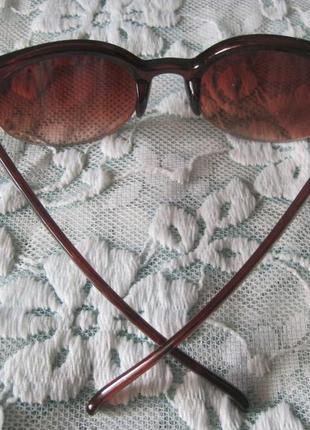 2 ультрамодные солнцезащитные очки кошачий глаз6 фото