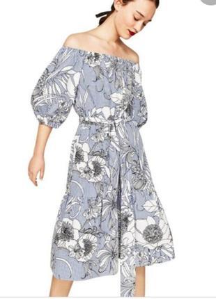 Платье от zara хит сезона