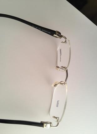 Фирменная безободковая оправа под линзы,очки оригинал gf.ferre gf430-01 новая5 фото