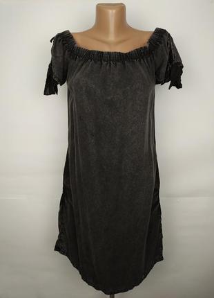 Платье серое стильное оригинал superdry m