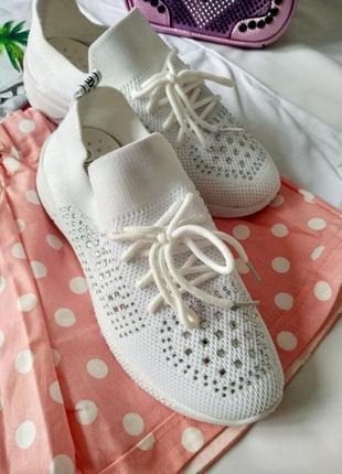 Летние женские кроссовки, текстиль