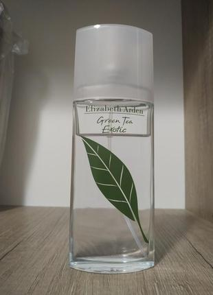 Elizabeth arden green tea exotic туалетная вода.