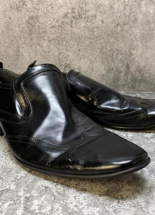 Туфли кожаные peterwerth, черные